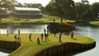 "This weekend on the PGA Tour it's time for the ""fifth major"": The Players Championship at TPC Sawgrass.  You know, the one with the island green on the 17th hole."